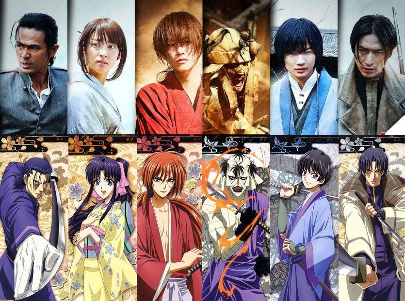 Rurouni Kenshin Live-actions | Kenshin anime, Rurouni kenshin, Live action