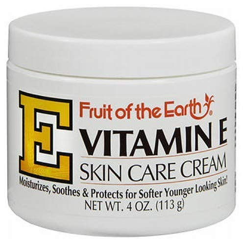 Amazon Com Fruit Of The Earth Fruit Of The Earth Vitamin E Skin Care Cream 4 Oz Nutritional Supplem Skin Care Cream Essential Oils For Psoriasis Skin Care
