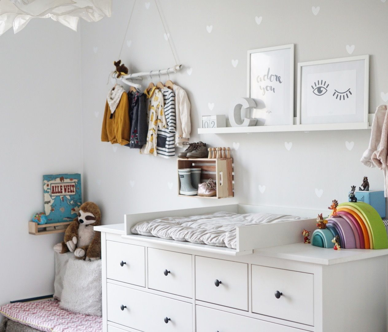 Kinderzimmer Kinderzimmerdeko Madchenzimmer Hemnes Ikea Ikeahack
