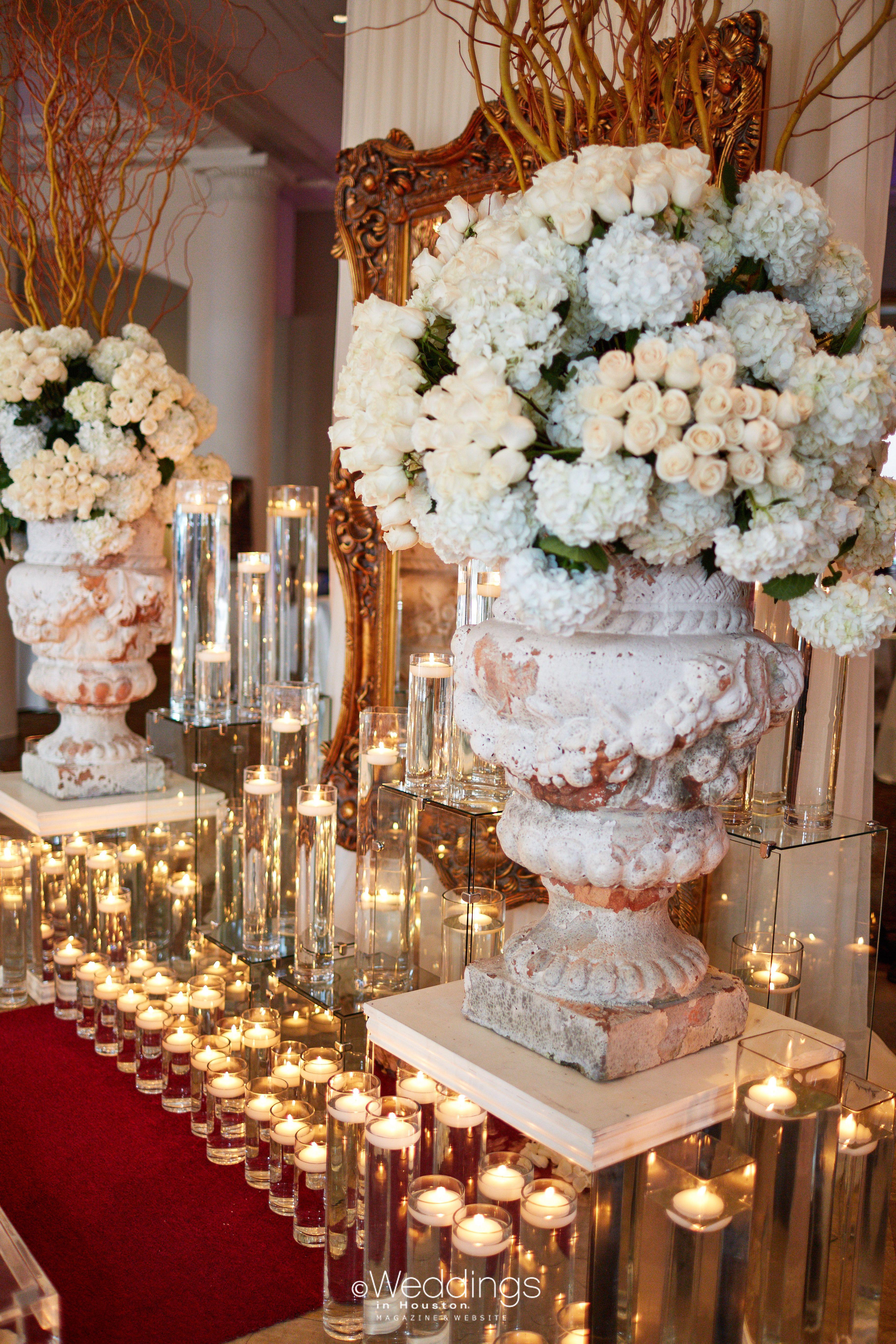 Extravagant White & Gold Wedding Ceremony Decor A.J.'s