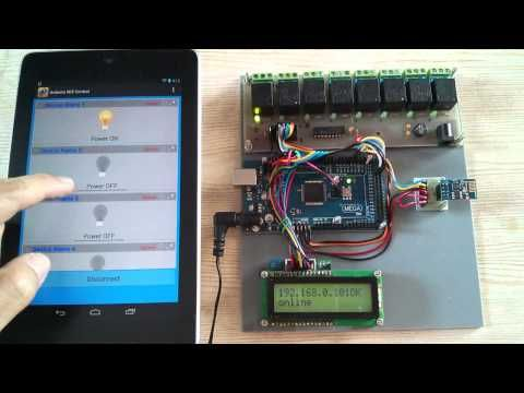 Android Arduino Wifi Control Devices with ESP8266 and