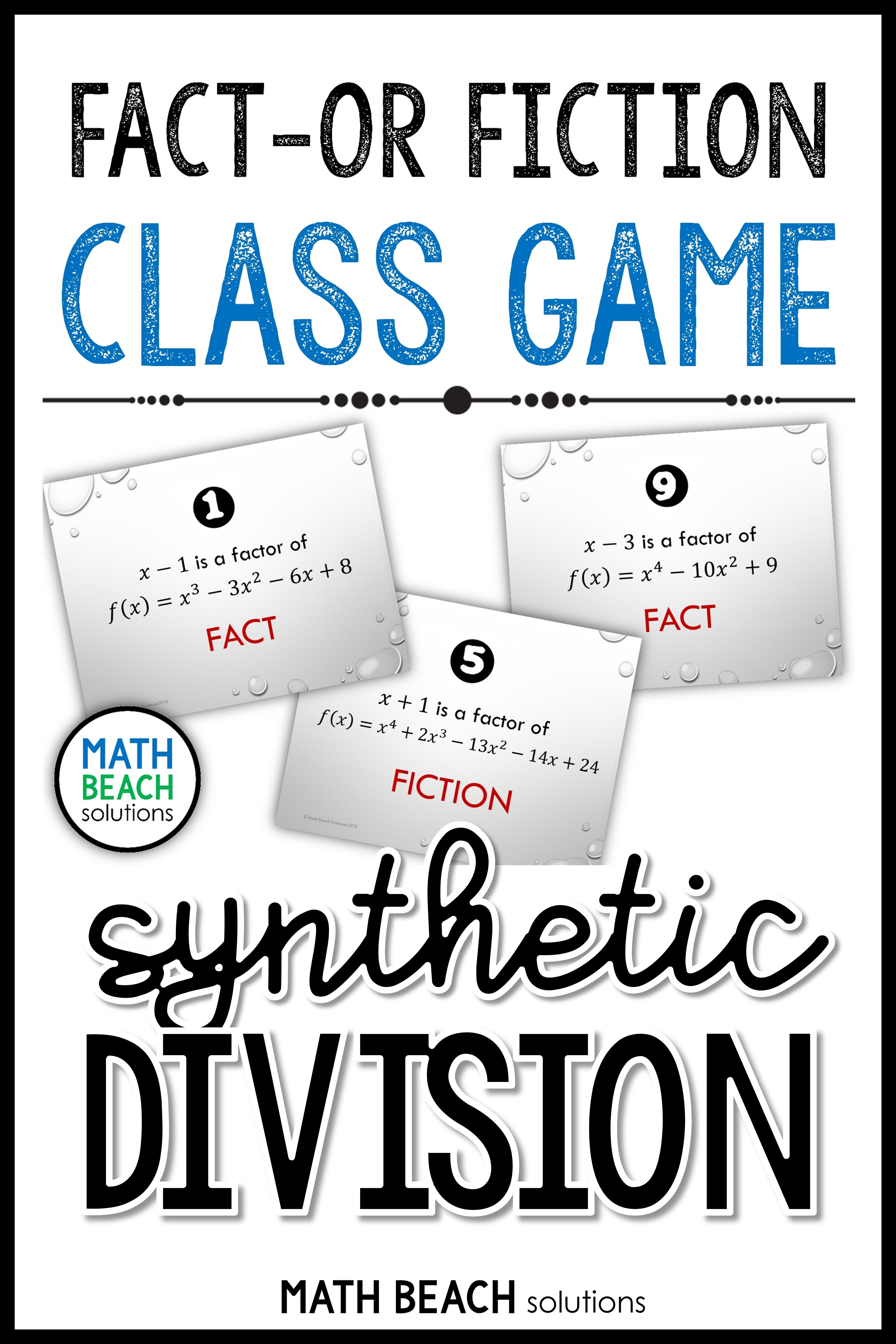 Fact Or Fiction Activity