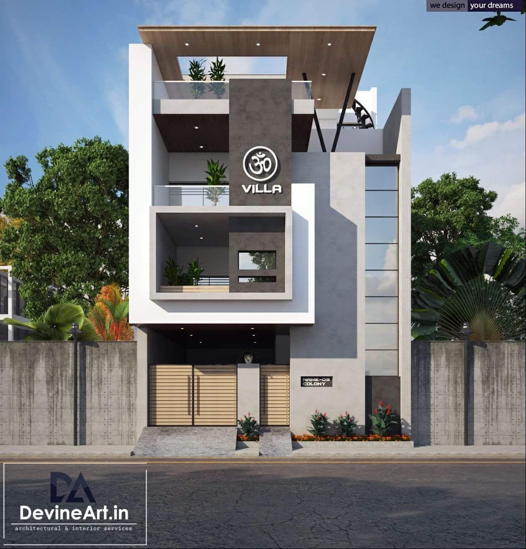 Building elevation house facade villa design modern also exterior architectural shedplans shed plans in rh pinterest