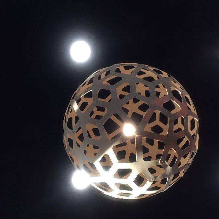 Coral pendant light by david trubridge at wainui golf club in new coral pendant light by david trubridge at wainui golf club in new zealand click mozeypictures Image collections