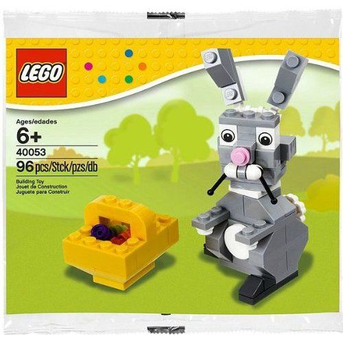 Lego easter bunny with basket lego pinterest easter bunny lego easter bunny with basket negle Choice Image