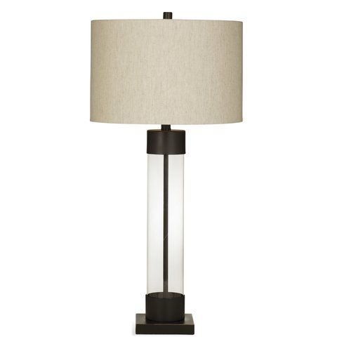 Anaheim 33 Table Lamp Bronze Table Lamp Glass Table Lamp Metal Table Lamps