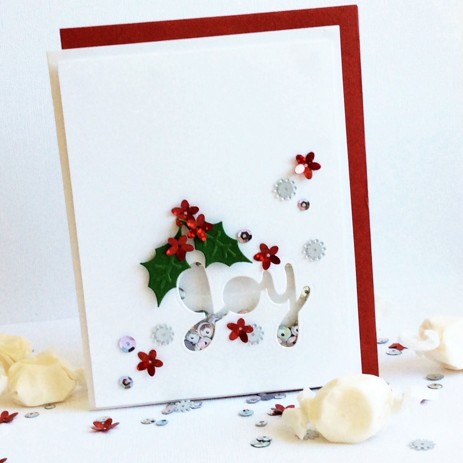 Card-Blanc By Kathy Martin: Joy