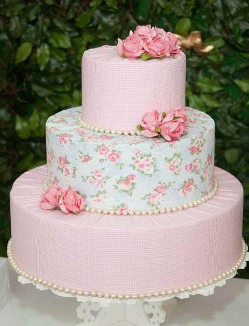 Shabby Chic Para Fiesta Infantil 1 Ao Pinterest Shabby Cake