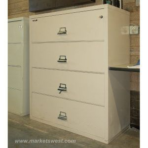 Fireproof 4 Drawer Legal File Cabinet
