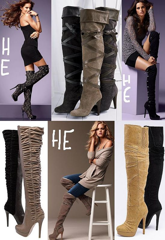 d47f6259c3e Colin Stuart Over-the-Knee Boots from Victoria Secret. Great for fall!   MyVSFallEdit