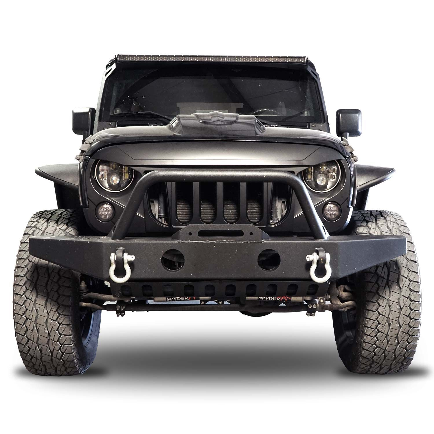 Best Jeep Wrangler Jk Upgrades Such As Hood Fender Bumper Light