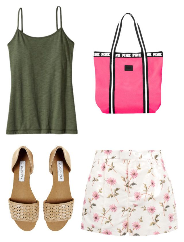 """""""Ginger Root 208"""" by rlshaw on Polyvore featuring Steve Madden, RED Valentino and Patagonia"""