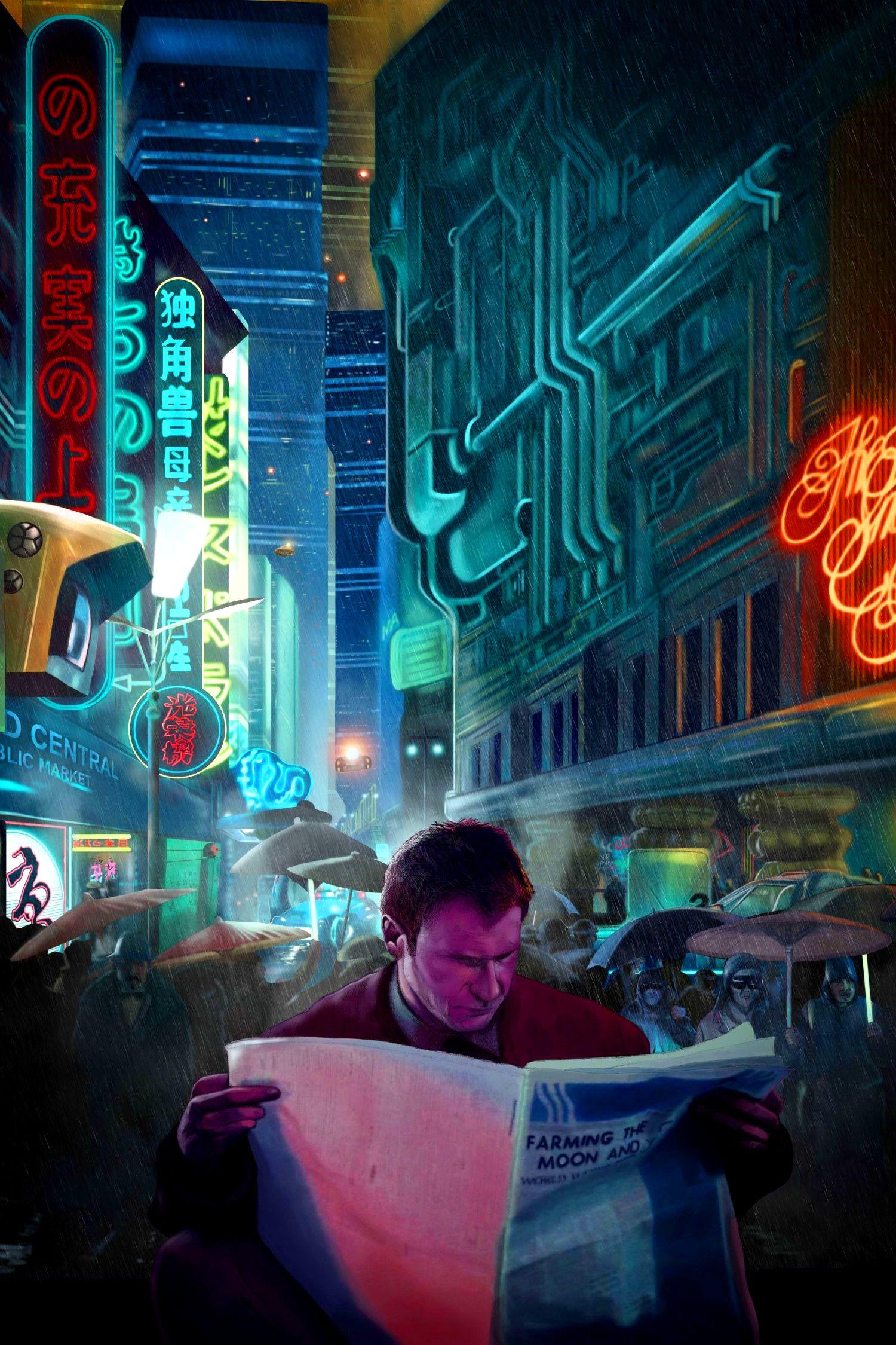 Blade Runner Cine De Los 80s Carteles De Películas