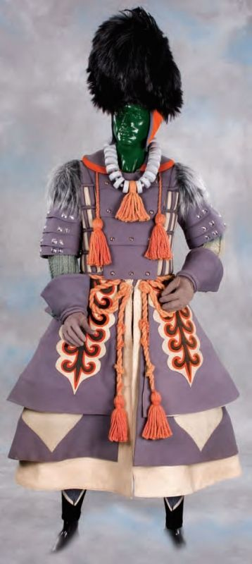 Original Wicked Witch of the West Winkie guard costume from