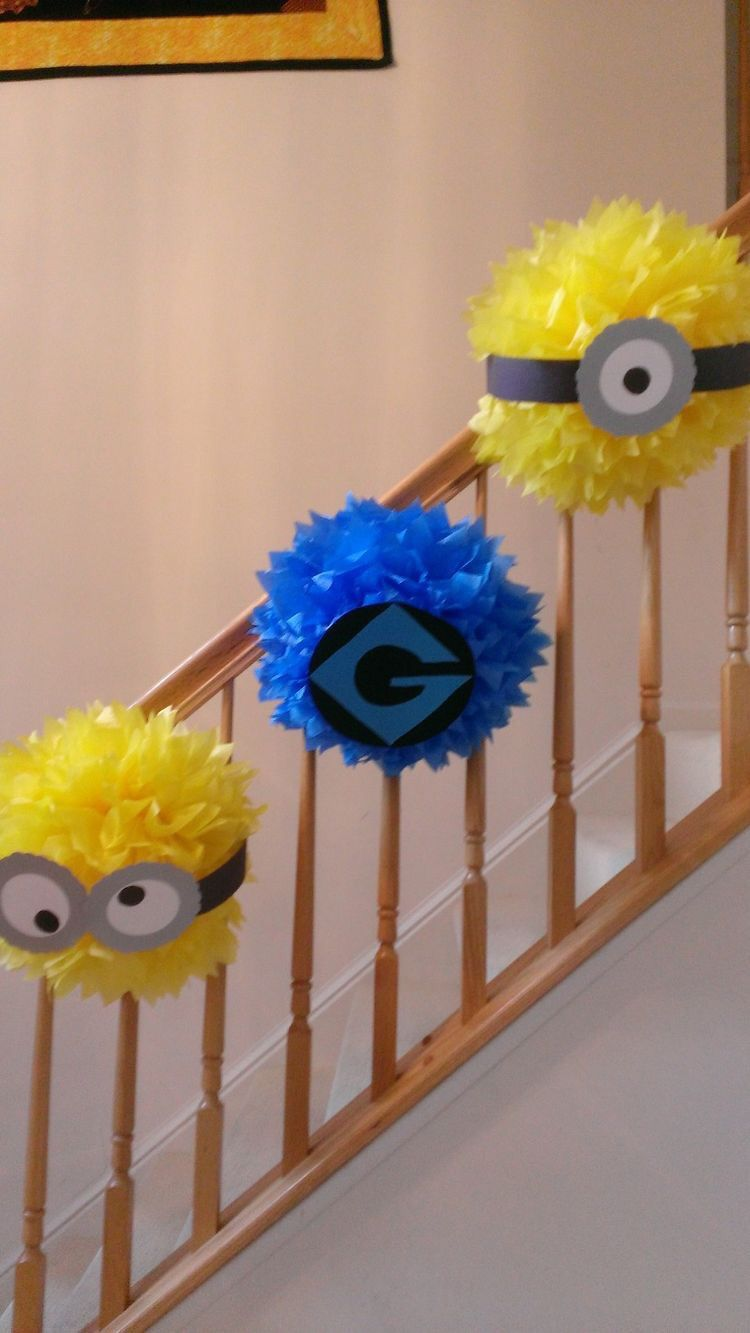 Despicable Me Party Decoration Garland Minion