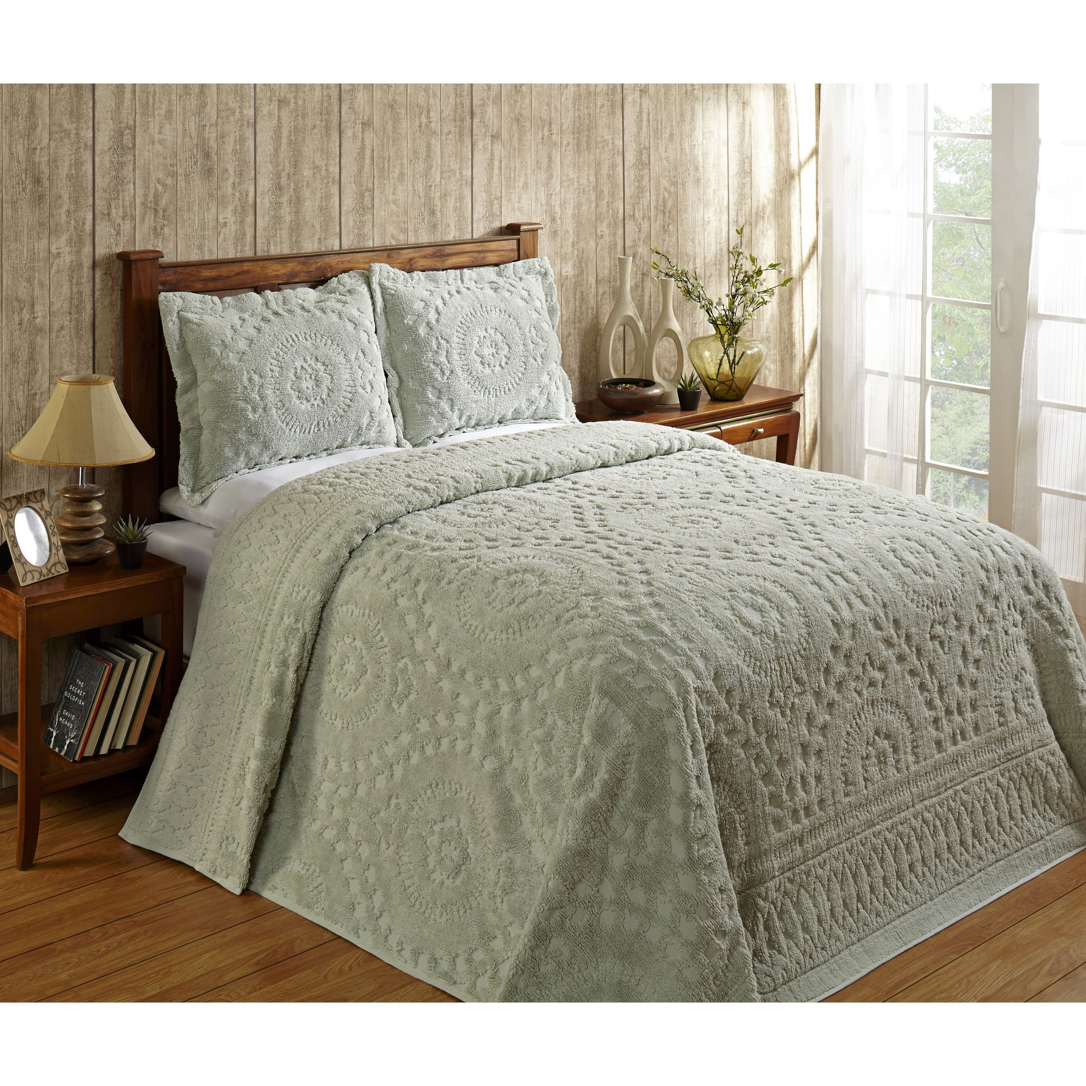 Better Trends Rio Collection In Floral Design 100 Cotton Tufted