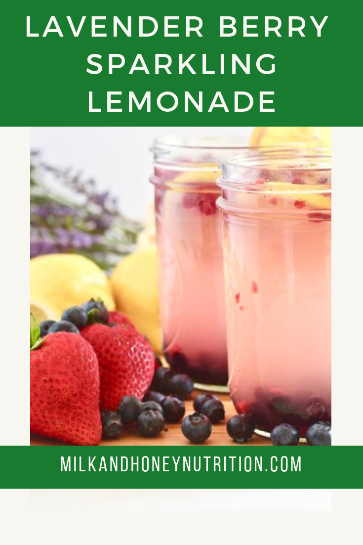 Lavender Berry Sparkling Lemonade #sparklinglemonade Check out this refreshing lavender berry sparkling lemonade. It's the perfect blend of flavor and fizz and it has the added benefit of beauty collegen! This is a sponsored post #summerdrink #sparklinglemonade #sparklinglemonade