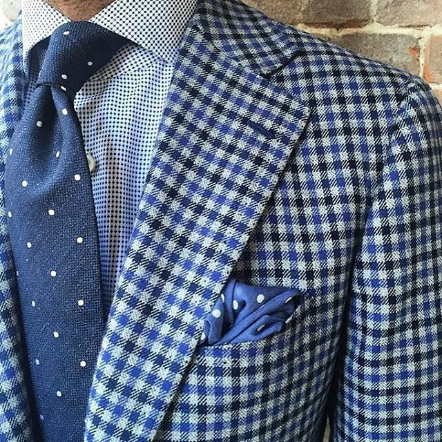 British Style — danielmeul: #ootd #jacket cashmere Donegal check...