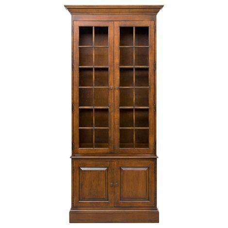 Ethanallen.com   Collectors Classics Single Library Bookcase   Ethan Allen    Furniture   Interior
