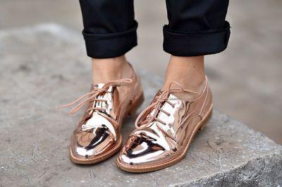 Decouvrez Les Promod Derbys Lames Femme Shoes Pinterest