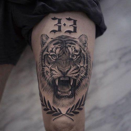 101 tatouages Badass pour les hommes: conceptions cool + idées (Guide 2020)   – Tattoos