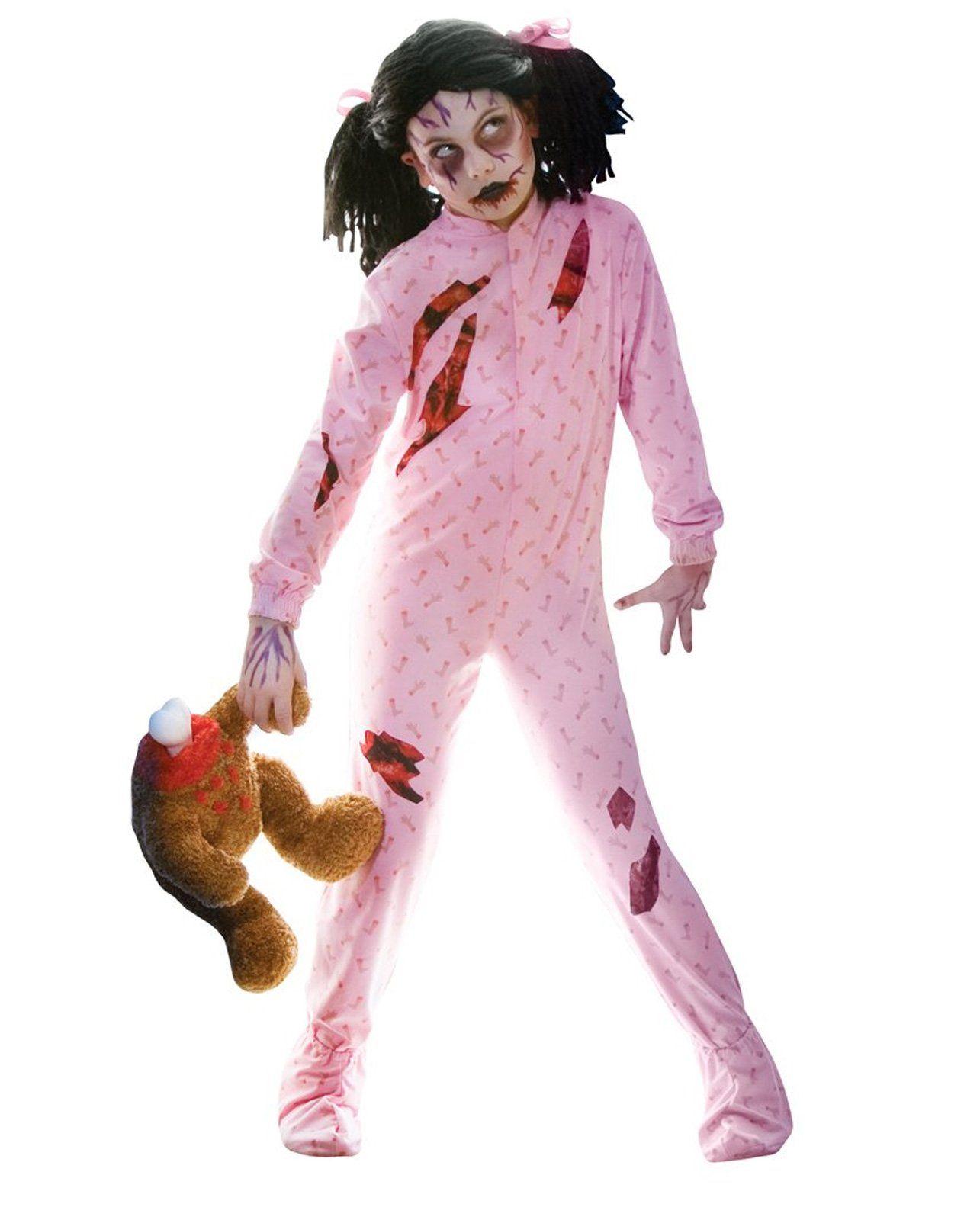 Zombie Girl Child Costume  Cute halloween costumes, Girl zombie