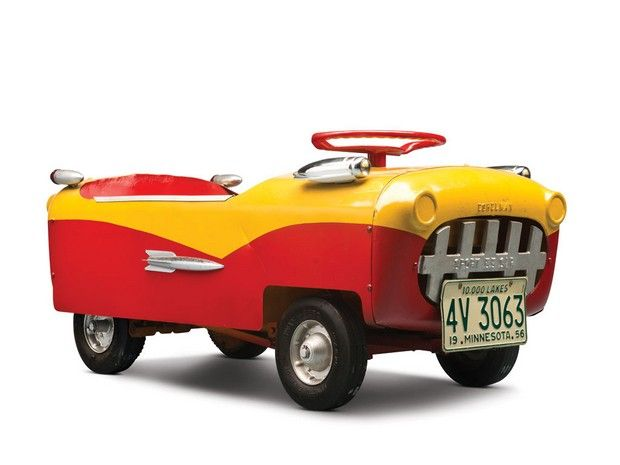 1955 Eshelman Deluxe Child S Sport Car It Really Looks Like A Toy A Toy That I Would Love To Have Pedal Cars Sports Cars Toy Pedal Cars