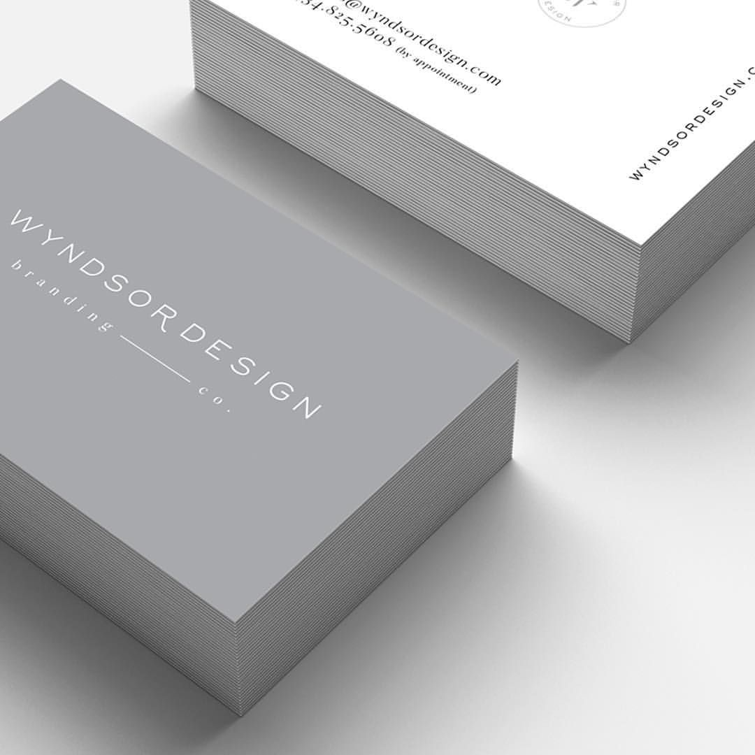 Clean Minimal Business Card Design Printed At Moo Business Card Design Minimal Business Card Design Minimal Business Card