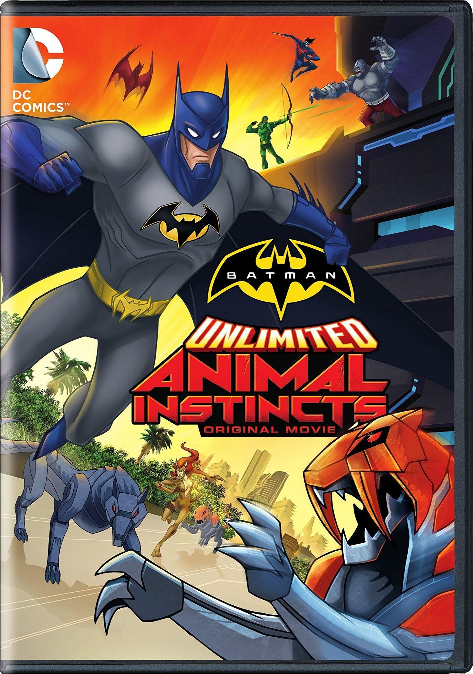 Animal Instincts 1992 Movie batman unlimited: animal instincts | instinct movie, batman
