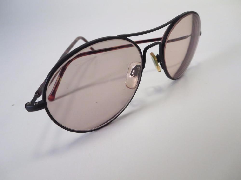 5c5d0ccd2b6b Giorgio Armani Black Metal Eyeglass Sunglass Frames - Italy    Serengeti
