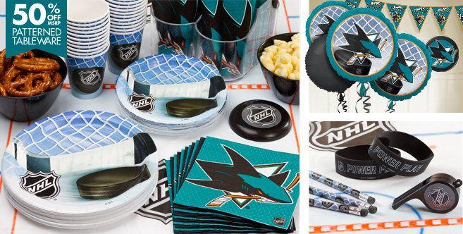 San Jose Sharks Party Supplies Favors Decorations Party City