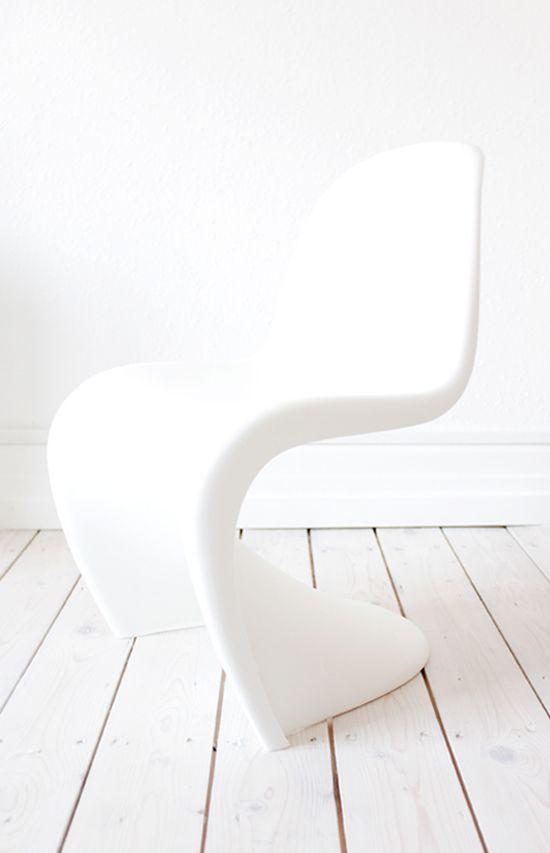 Disappearing Act White Chair Panton Chair Chair Design