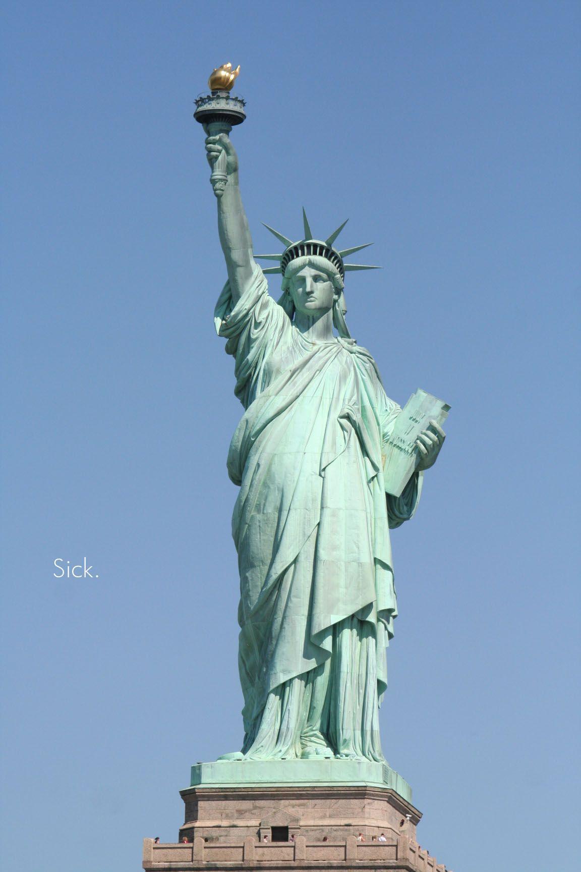 NY _ La statue de la liberté   Places I Have Been   Pinterest   Liberty, Travel memories and Buckets