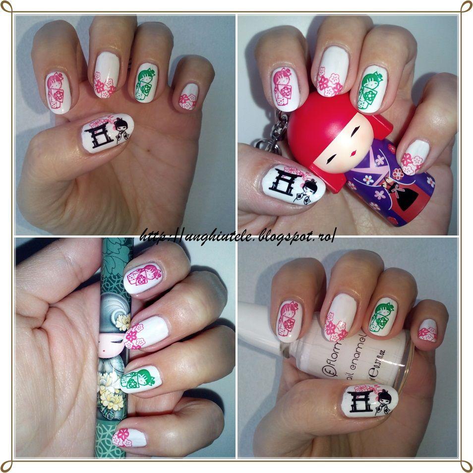 Unghiutze colorate-Happy nails: Alphabet nail art challenge - Letter ...