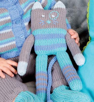 Modèle doudou chat - Modèles tricot layette - Phildar    2 Rag dolls ... db565aec7c6