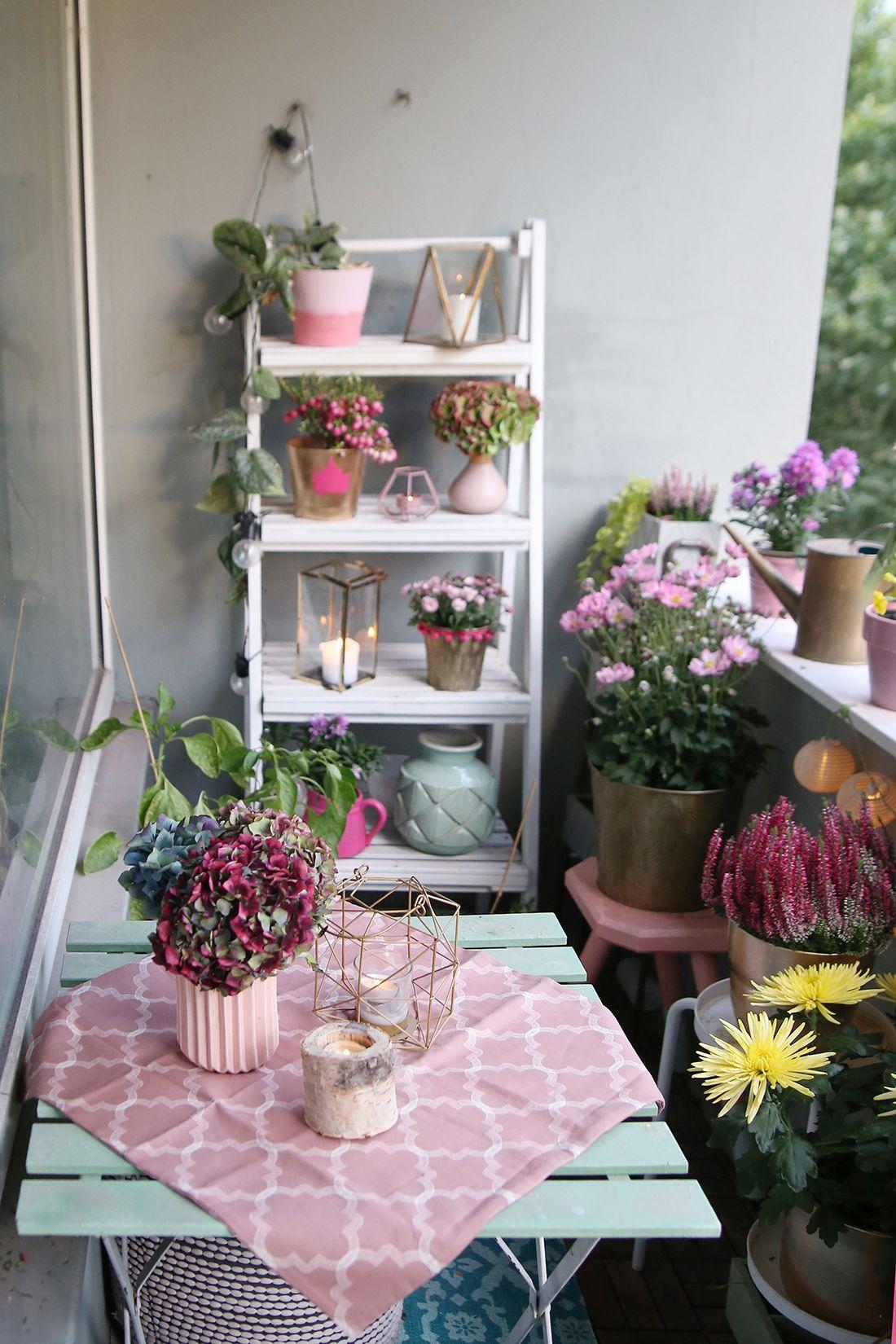 Mein Herbstbalkon & DIY Pflanztopf selbermachen in 2020