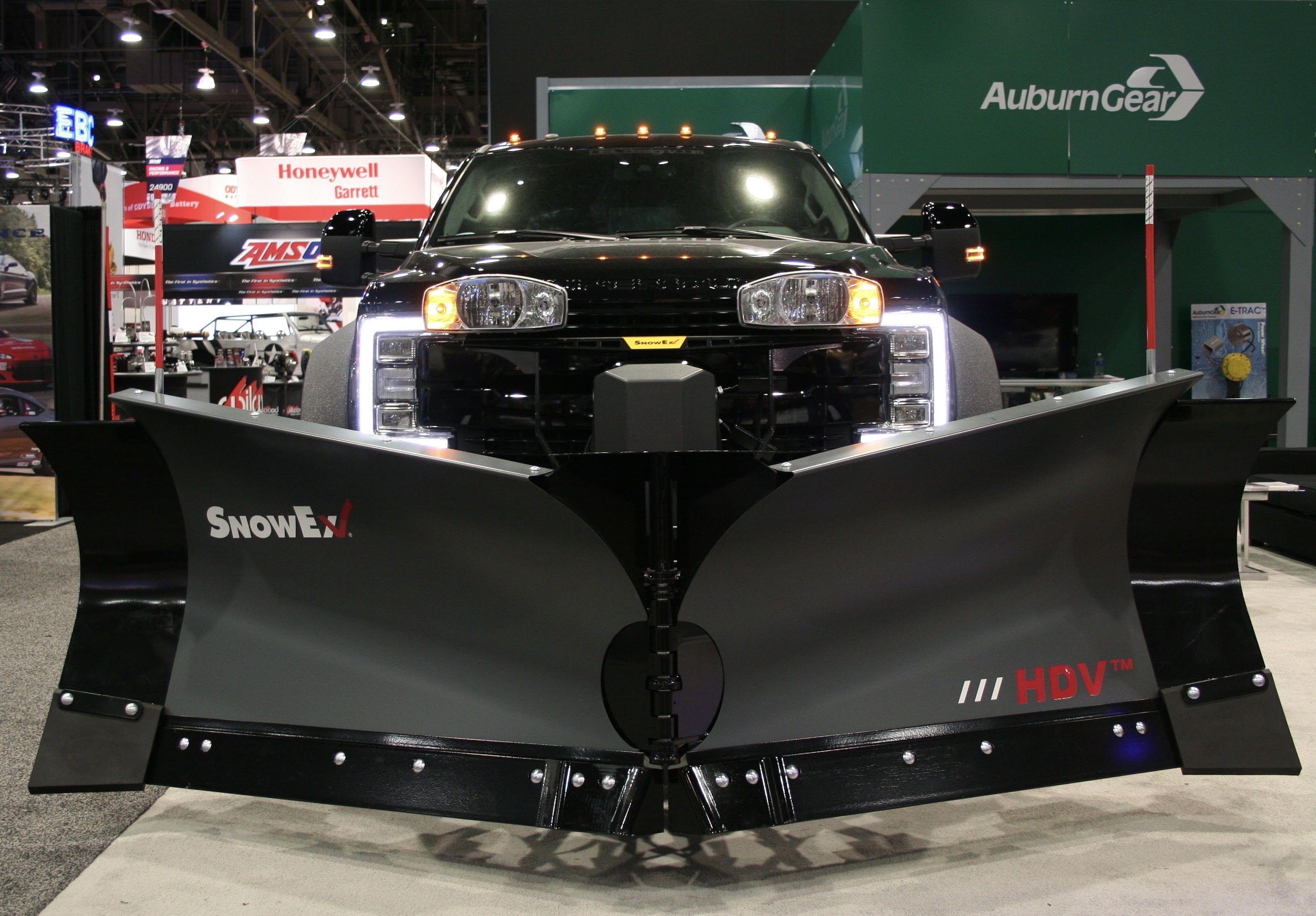 2017 F450 Short Bed Severe Duty Plow Truck SEMA