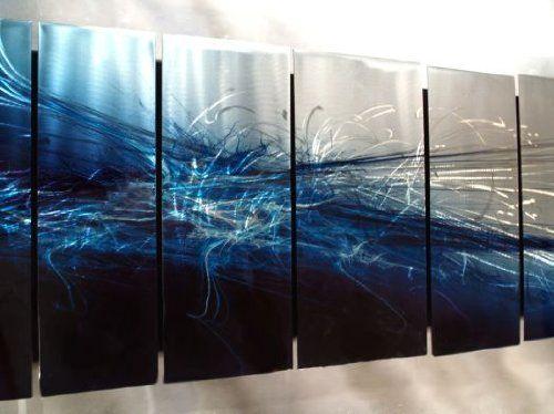 Amazon Com Ash Carl Metal Wall Art Handsanded Wall Decor For Modern Settings Wall Sculptures Abstract Metal