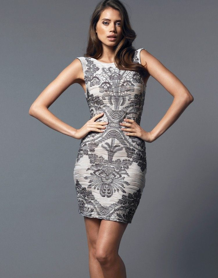 e2f04cdf5795 Lipsy Baroque Ripple Bodycon Dress | Fashion & Style | Dresses ...