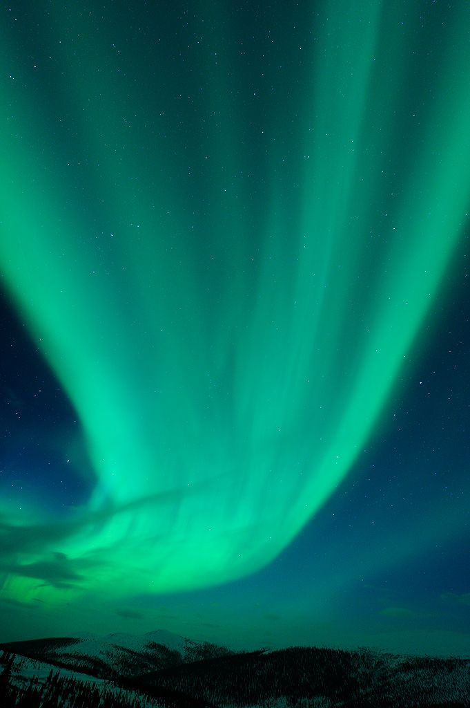 Alaskan Aurora  I want to see this!