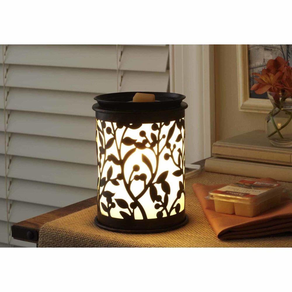 Wax Melt Warmer Fullsize Decorative Desig Botanical Glow