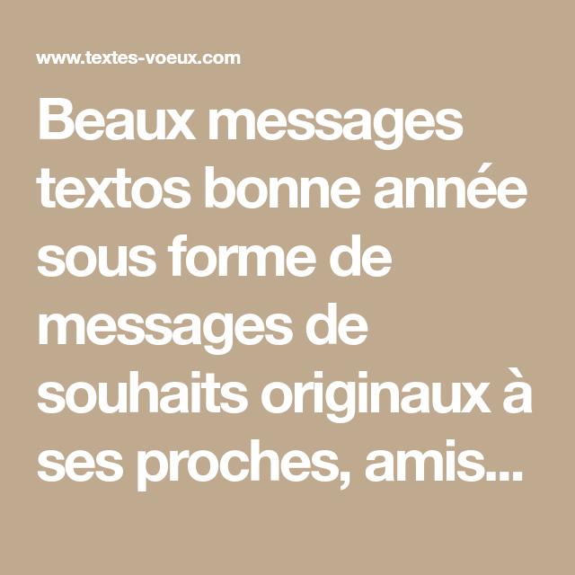 Formules Types Gratuites Pour Le Nouvel An Texto Bonne