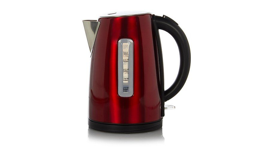 George Home 17l Fast Boil Kettle Red Kettle Asda Save