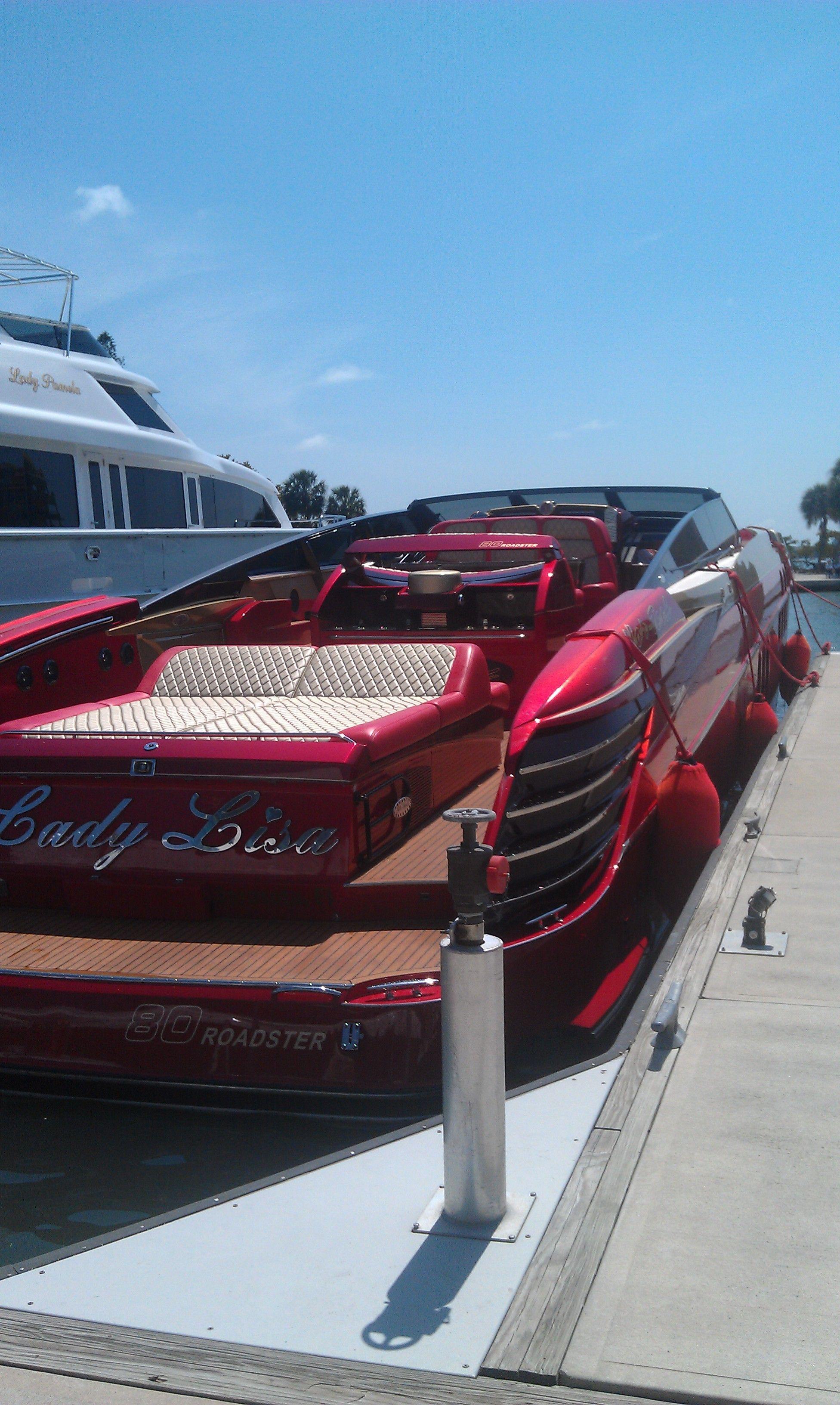 Lady Lisa 80 Foot Speedboat Sarasota Florida Beautiful In 2020 Boats Luxury Yacht Design Luxury Yachts