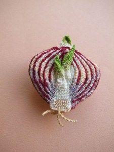 Embroidered Onion by Kaoru Hirota