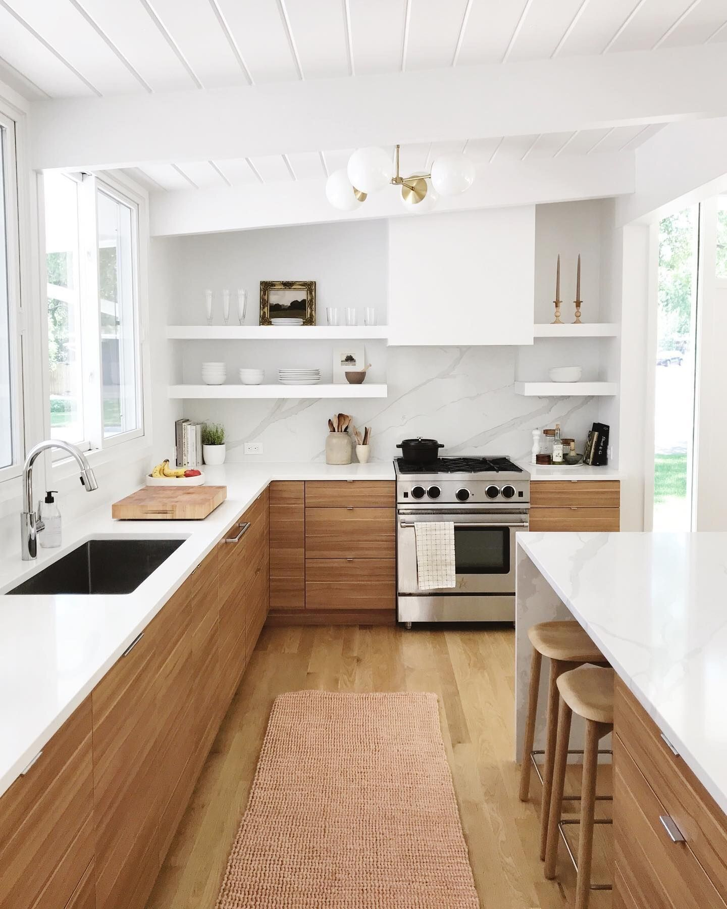 Ready to Renovate your Kitchen? Here's some fresh kitchen reno's to get your design juices flowing.