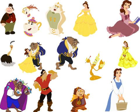 Belle and the beast cast