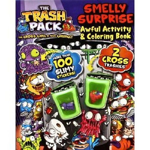 Trash Pack Smelly Suprise Book
