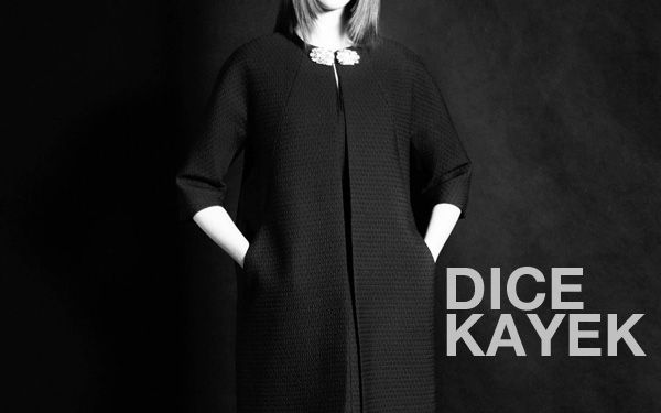 Dice Kayek, vision of modern femininity.
