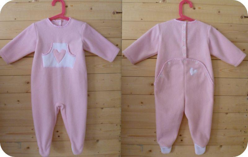 Bien connu patron couture gratuit pyjama bébé | Couture Enfant | Pinterest  WJ05
